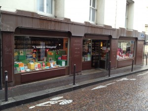 Bookstore on Rue Mouffetard