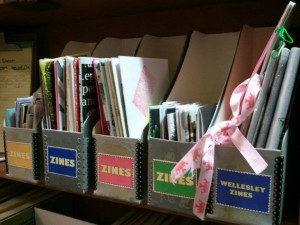 Zine Collection at Wellesley College